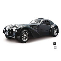 Автомодель - BUGATTI ATLANTIC (1936) (ассорти синий, серебристый, 1:24)
