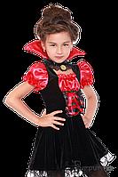 Детский карнавальный костюм для девочки ВАМПИРША