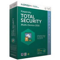 Программная продукция Kaspersky Total Security (Multi-Device) 1+1 Device 1 year Base Box (KL1919OUBFS16)