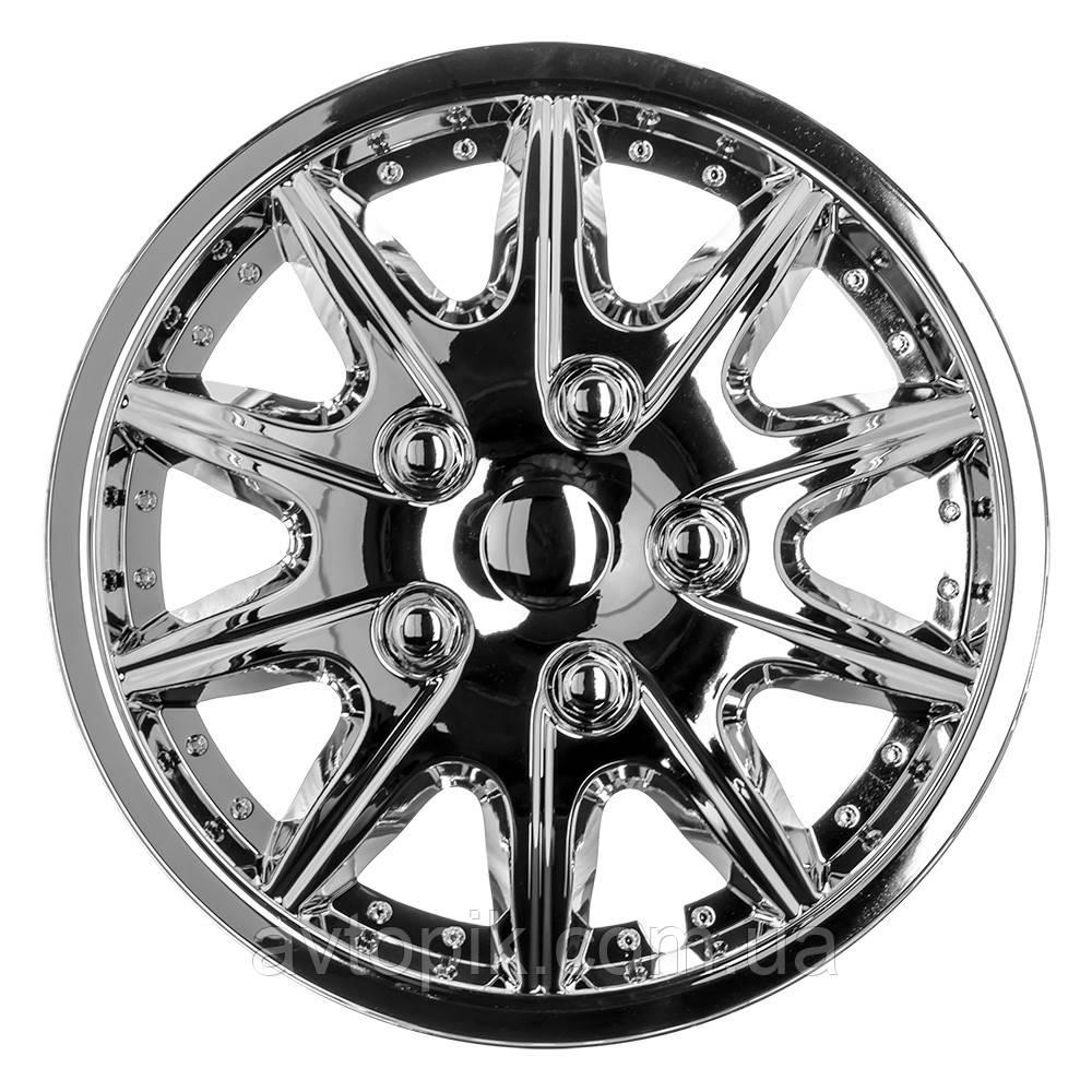 Колпаки колесные хромированные Winjet WJ-5004-C R13 R-3705