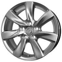 Литые диски Replica Toyota (TY717d) R17 W7.5 PCD5x114.3 ET37 DIA60.1 (hyper silver)
