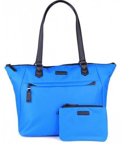 Оригинальная женская сумка-шоппер 25 л. Roncato Diva 3759/53 голубой