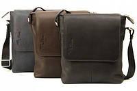 Мужская сумка из натуральной кожи Tom Stone 401