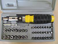 Набор инструментов.Набор отвёрток 41 предмет в чемоданчике.  AIWA