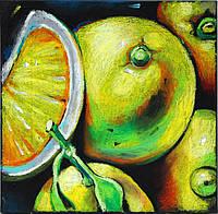 Набор для рисования масляной пастелью Лимоны (RS-N000083 ) 25 х 35 см