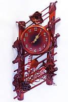 Часы из натуральной кожи и бамбука-Ажур GP - ЧК25