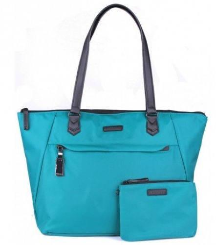 Изумрудная функциональная сумка-шоппер, женская 25 л. Roncato Diva 3759/87