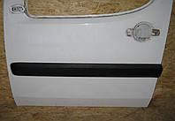 Молдинг, накладка передней двери Фиат Добло / Fiat Doblo 2007, 735388382