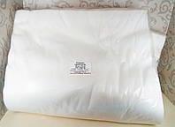 Полотенце 35*70 см Спанлейс Белые Гладкие 100 шт/уп