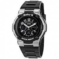 Часы Casio Baby G Shock Resistant Black Multi-Function Sport Ladies Watch CSBGA110-1B2