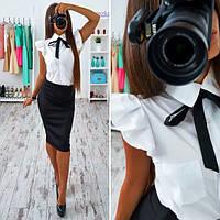 Костюмчик: рубашечка + юбка карандаш