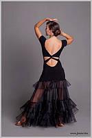 Юбка для бальных танцев тренировочная «Штиль»