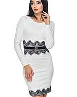 Белое платье с кружевом | 2002 br