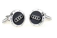 Запонки Audi Ауди для водителя водителей свадебные запонки стильный аксессуар