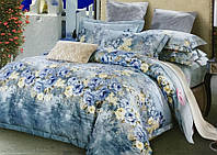 Жаккардовое постельное белье 200х220 Гобелен Prestij Textile 03632