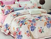 Жаккардовое постельное белье 200х220 Гобелен Prestij Textile 02986