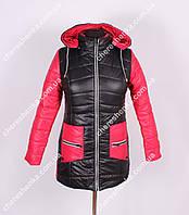 Женская куртка  весна/осень OKH1 Красный, 46