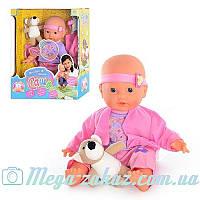 """Интерактивная кукла пупс с мимикой """"Саша"""" (Baby Born): 12 фраз, аксессуары в комплекте"""