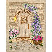 НКШ-4005 Калитка в цветах. Марічка. Набор для вышивания нитками (декоративные швы)