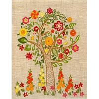 НКШ-4004 Цветущее дерево. Марічка. Набор для вышивания нитками (декоративные швы)