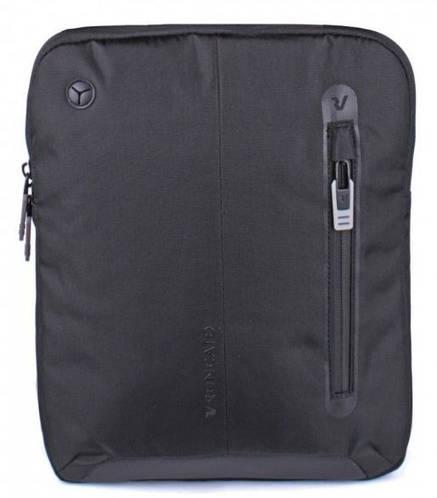 Наплечная мужская сумка на каждый день Roncato Overline 3857/01 черный