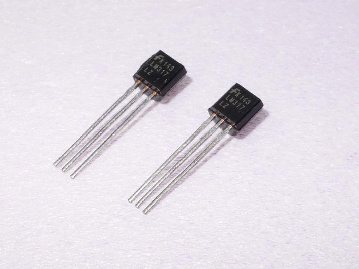 Стабилизатор постоянного напр-я регулируемый LM317LZ (0.1a , 1.2-37v)