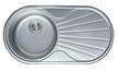 Мойка круглая c полкой (кепка) 840х440х180 Decor