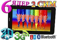 НОВЫЙ ПЛАНШЕТ ТЕЛЕФОН Samsung S7 на 2СИМ+3G+BT+3D