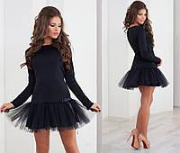Короткое платье с фатином СОР 2006-NW