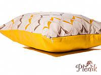 Подушка декоративная 40х40 IzziHome Хвиля желтый
