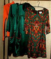 Платье ECI с изумрудным декором  (S,M)