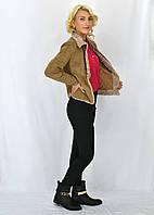 Стильная женская курточка из  искусственной замши Джессика