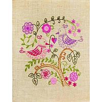 НКШ-4003 Влюбленные птички. Марічка. Набор для вышивания нитками (декоративные швы)