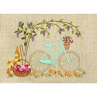 НКШ-4002 Велосипедная прогулка. Марічка. Набор для вышивания нитками (декоративные швы)