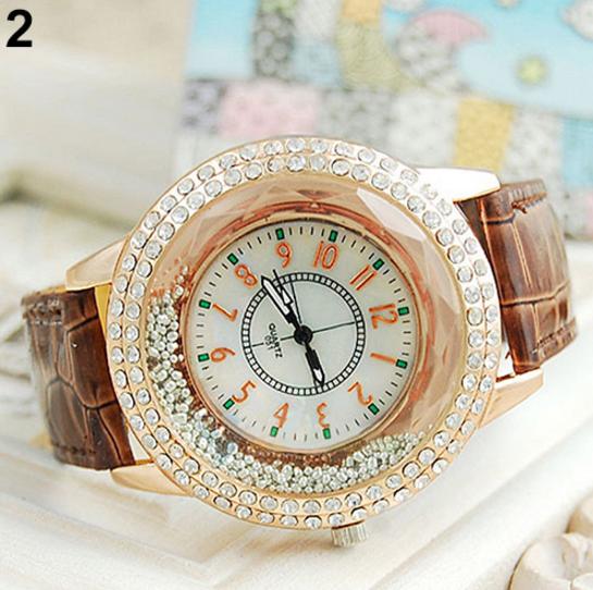 РОЗПРОДАЖ !!! - Женские наручные часы со стразами!