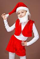 Детский карнавальный костюм Гном Санта Гномик