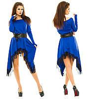 Женское  платье ассиметрия ОМ 005-NW