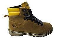 Женские ботинки Timberland польская кожа, набивной мех Р. 36 37 38 39 40 41