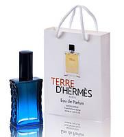 Мини парфюм мужской Hermes Terre d`Hermes в подарочной упаковке 50 ml