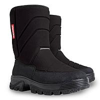 Зимние сапоги сноубутсы Demar HANNU черные р.25-38 для мальчиков и девочек