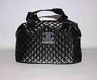 Женская сумочка стеганая Chanel QB03 Черный