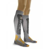 Женские горнолыжные носки X-Socks Skiing Light Lady 35/36 X20234-X81 Light Grey/Gold