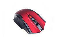 Беспроводная оптическая игровая мышь Fan Tech Mini 2.4Ghz  красный