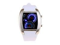 Часы со Спидометром Street Racer  белый