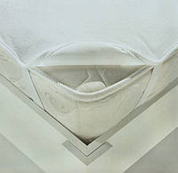 Наматрасник влагонепроницаемый в кроватку, 60*120 см