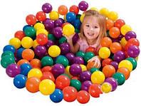 Шарики (мячики) цветные для сухого бассейна Intex 49602, 6.5 см (100 шт)