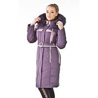 Женское зимние пальто Nui Very (Нью Вери) ЛИЛАС