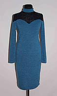 Платье женское 141 Синий, 48