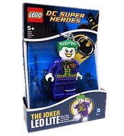 Брелок-фонарик Лего Супергерои Джокер LGL-KE30A
