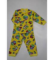 Пижама на 2 пуговках с начесом
